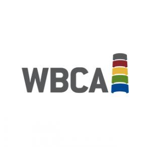 WBCA logo - white